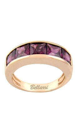 Bellarri 14K Rose Gold Eternal Love Rhodolite Garnet Band, Style R9018PG14RH product image