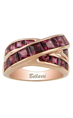 Bellarri Eternal Love 14K Rose Gold  Rhodolite Ring, Style R9160PG14RH product image