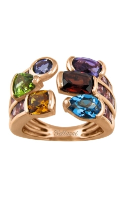 Bellarri Capri 14K Rose Gold Multi-Color Ring, Style R9283PG14MR product image