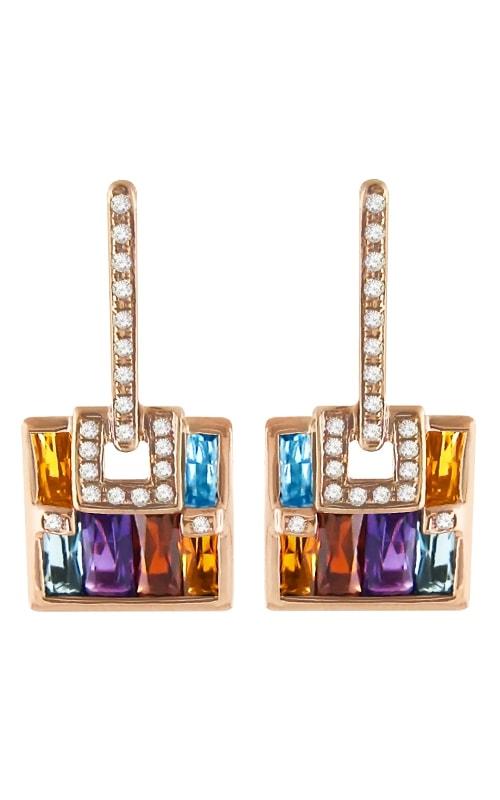 Boulevard Diamond & Multi-Color Earrings product image