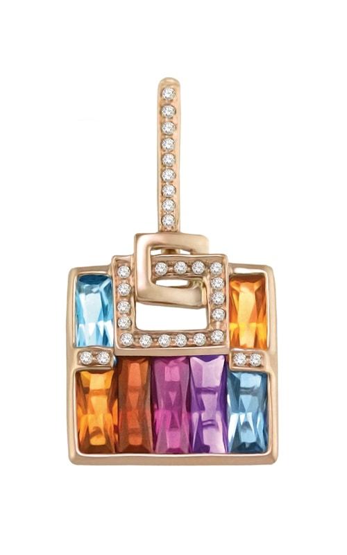 Boulevard 14K Diamond & Multi-Color Pendant product image