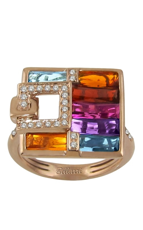 Boulevard 14K Diamond & Multi-Color Ring product image