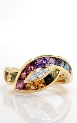 Bellarri 18K Yellow Gold Diamond & Multi-Color Ring product image