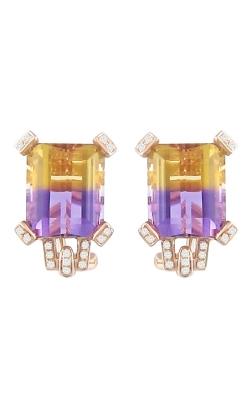 Fantasia 14K Rose Gold Diamond & Ametrine Earrings ER2247PG14AMT product image