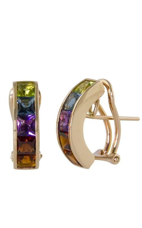 Eternal Love 14K Multi-Color Earrings product image