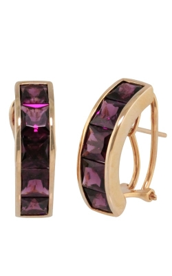 Bellarri Eternal Love 14K Rose Gold Rhodolite Earrings, Style ER2204PG14RH product image