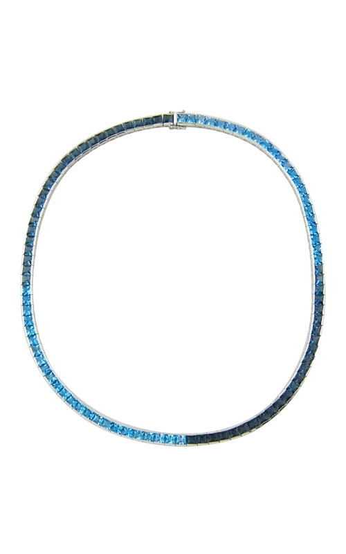 Eternal Love 14K Blue Topaz Necklace product image