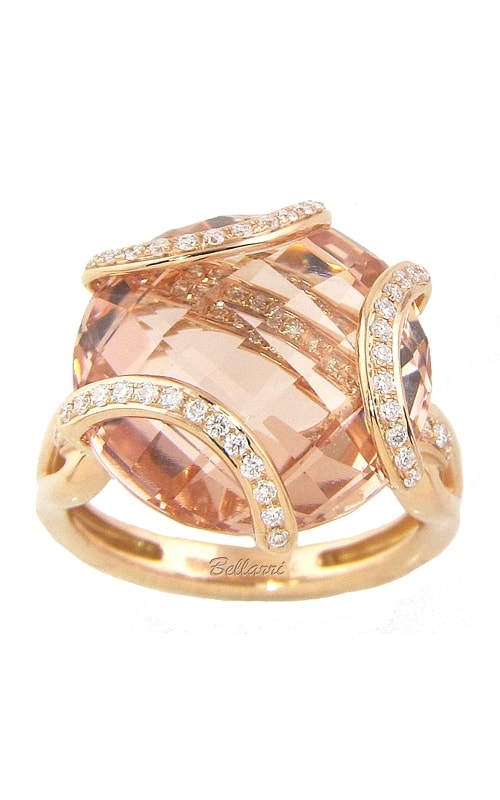 Legacy 18K Diamond & Morganite Ring product image
