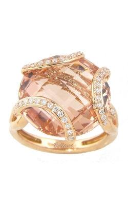 Bellarri Legacy 18K Rose Gold Diamond & Morganite Ring, Style# R8860PGMOR product image