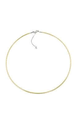 "14K Yellow Gold & White Gold Reversible 15"" Necklace, Style P739TT14-15 product image"