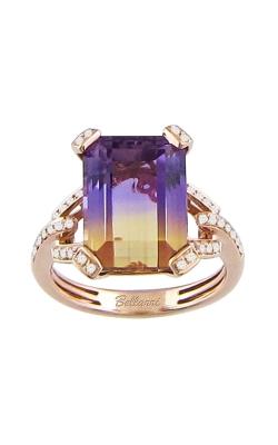 Fantasia 14K Rose Gold Diamond & Ametrine Ring, Style R9129PG14AM. product image