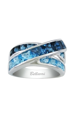Eternal Love 14K White Gold Swiss Blue & London Blue Topaz Ring, Style R9160W14BT product image