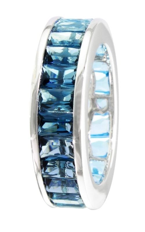 Eternal Love 14K Blue Topaz Eternity Ring product image