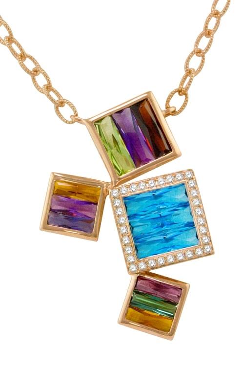 Rhapsody 14K Diamond & Multi-Color Pendant product image