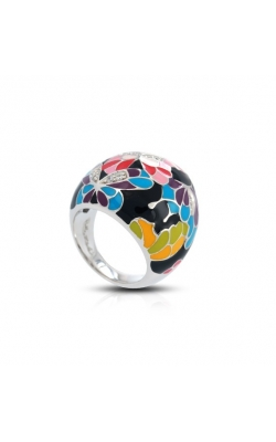 Belle Etoile Butterfly Kisses Black Ring product image