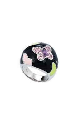 Belle Etoile Papillon Black Ring product image