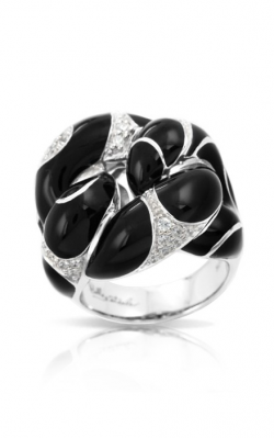 Belle Etoile Catena Black Ring product image