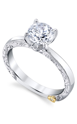 Mark Schneider Lace 14K White Gold Engagement Ring 20310 product image