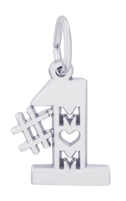 Rembrandt Silver Number One Mom Charm 6179-SS product image