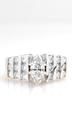 14K Two-Tone Marquise Diamond Ring DRL4Y05041 product image