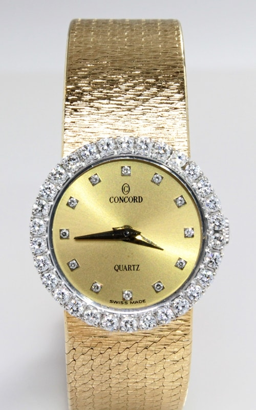 Concord 14K Diamond Bezel Ladies Watch WEL00364 product image