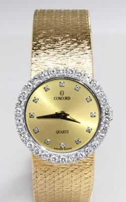 Concord 14K Yellow Gold Diamond Bezel Ladies Watch, Item# WEL00364 product image