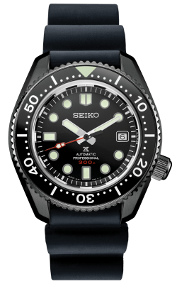 Prospex 'Black Series' Saturation Diver Limited Edition Watch SLA035 product image