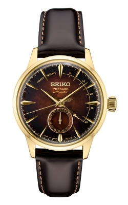 Seiko Presage Automatic Limited Edition Gold Finished Watch SSA392 product image