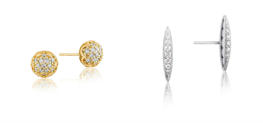 Tacori Sonoma Mist and Ivy Lane Earrings