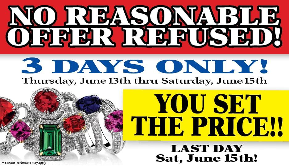 Excess Jewelry Liquidation Event