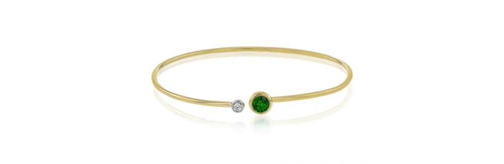 Simon G Modern Enchantment Emerald Bracelet
