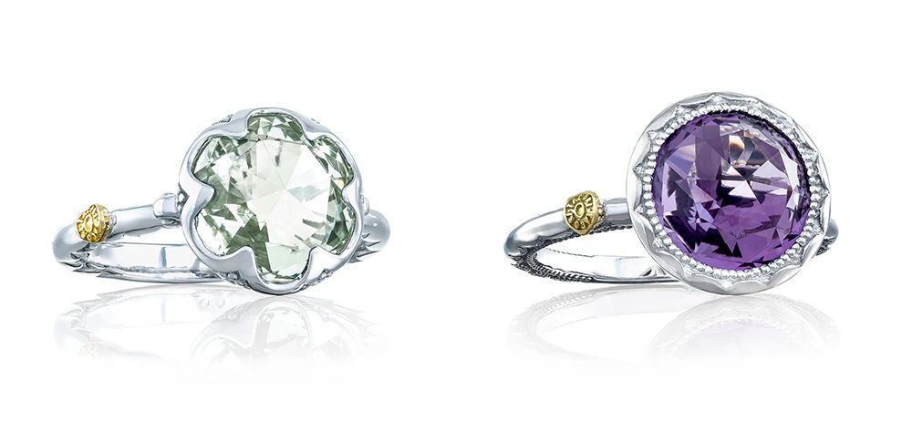 Whimsical Promise Engagement Rings