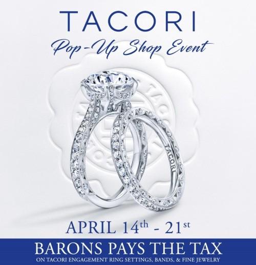 Tacori Pop-Up Shop Event at BARONS Jewelers