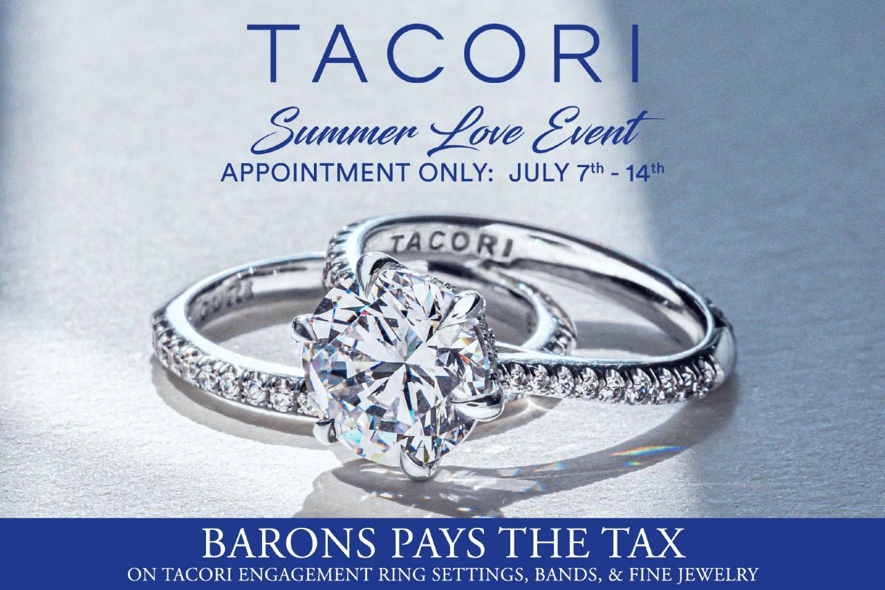 Tacori Summer Love Event at BARONS Jewelers