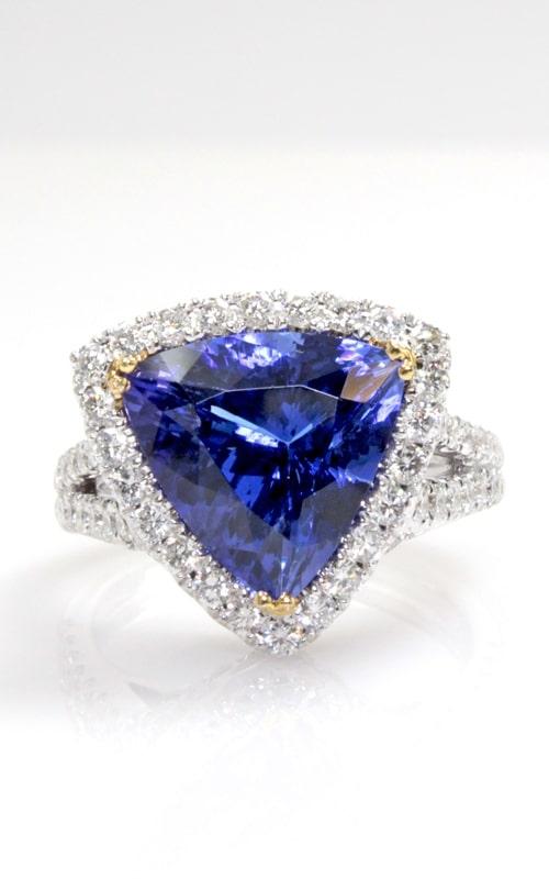 18K Two-Tone Tanzanite & Diamond Ring DREX02696 product image